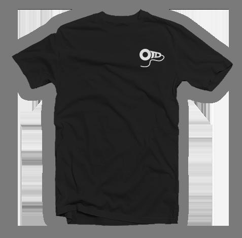 OTD Embroidered Black Tee